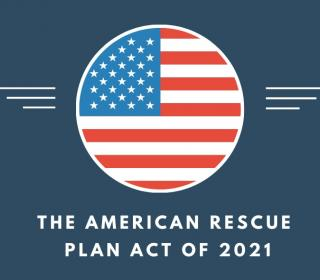 graphic of an American Rescue Plan Act logo