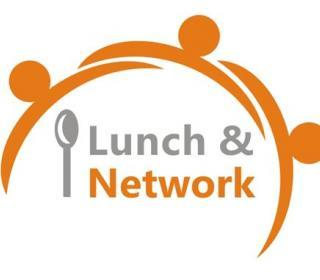 Lunch and network graphic