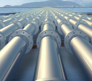 Photo of pipelines.